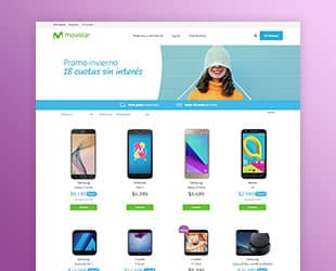 Ecommerce Magento Movistar